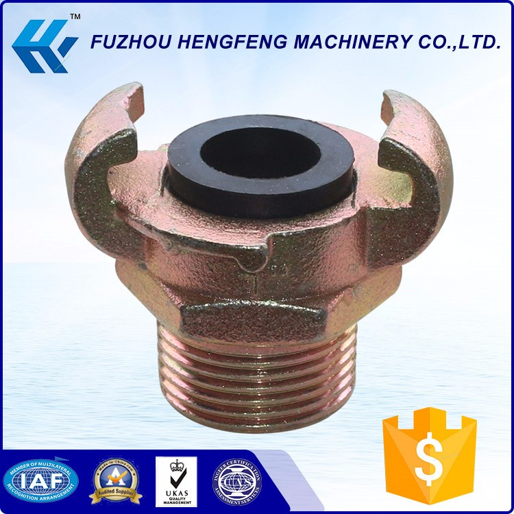 Euro style quick couplings air hose compressor fittings