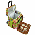 trolley picnic cooler bag with wheels
