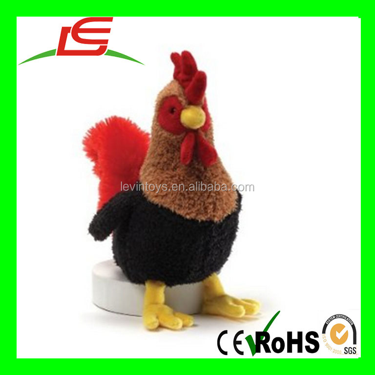 LE P30 Plush Thanksgiving turkey stuffed rooster gift toy