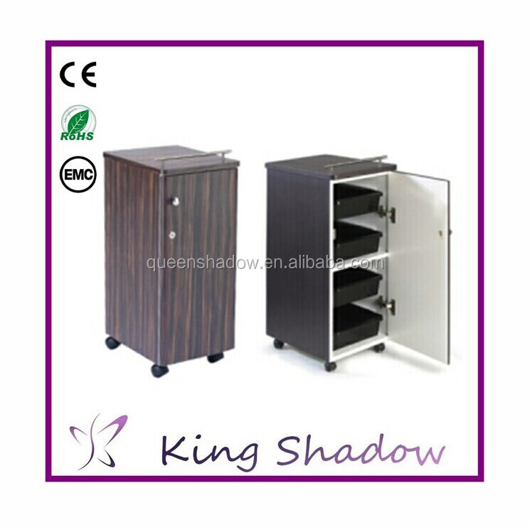 Kingshadow MDF material and high quality wholesale trolley for salon