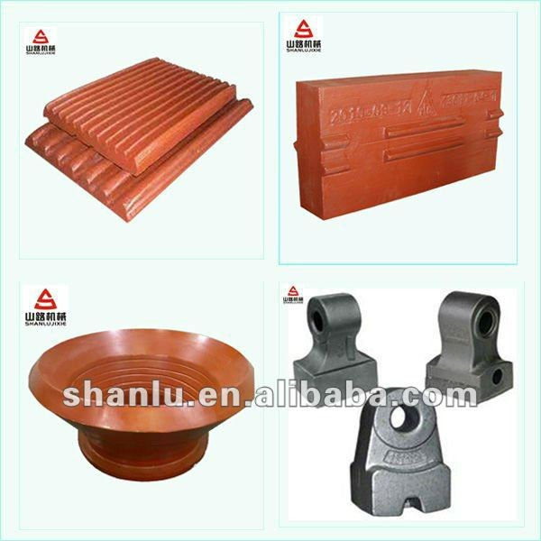 Scrap Metal Crusher Parts Casting from shanghai
