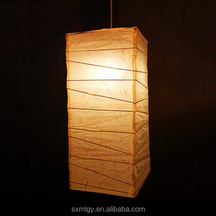 Rice Paper Lamp Cover Shades