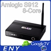 The Best Octa Core S912 EM92 Android TV box Smart Media Streaming Android 6.0 TV Top Box 4K Capable Fully Loaded With Kodi