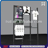 TSD-M709 Custom retail garment shop pos metal dress display rack,dress display stand,t-shirt display rack