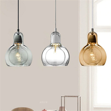 Pendant Ceiling Lamps Modern Lights Industrial Glass Pendant Light for Restaurant Home Decorative