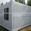 China Low Cost 20ft Steel Building Expandable Prefab Container House