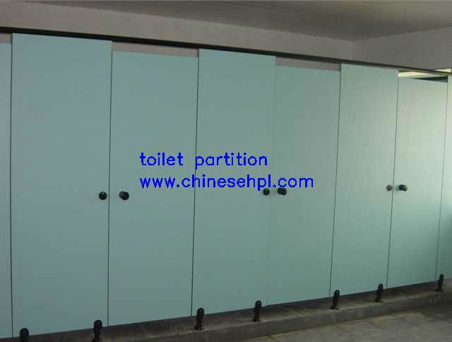 Lijie solid compact laminate toilet cubicles with doors