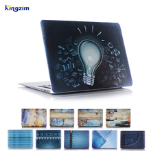 laptop pattern hard plastic case for macbook pro retina 15 A1398