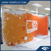 Custom Logo Exhibit Frame Tension Foldable Stand