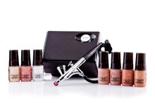 Wholesale Shade Warm Cosmetic Starter Kit & Airbrush Makeup Foundation