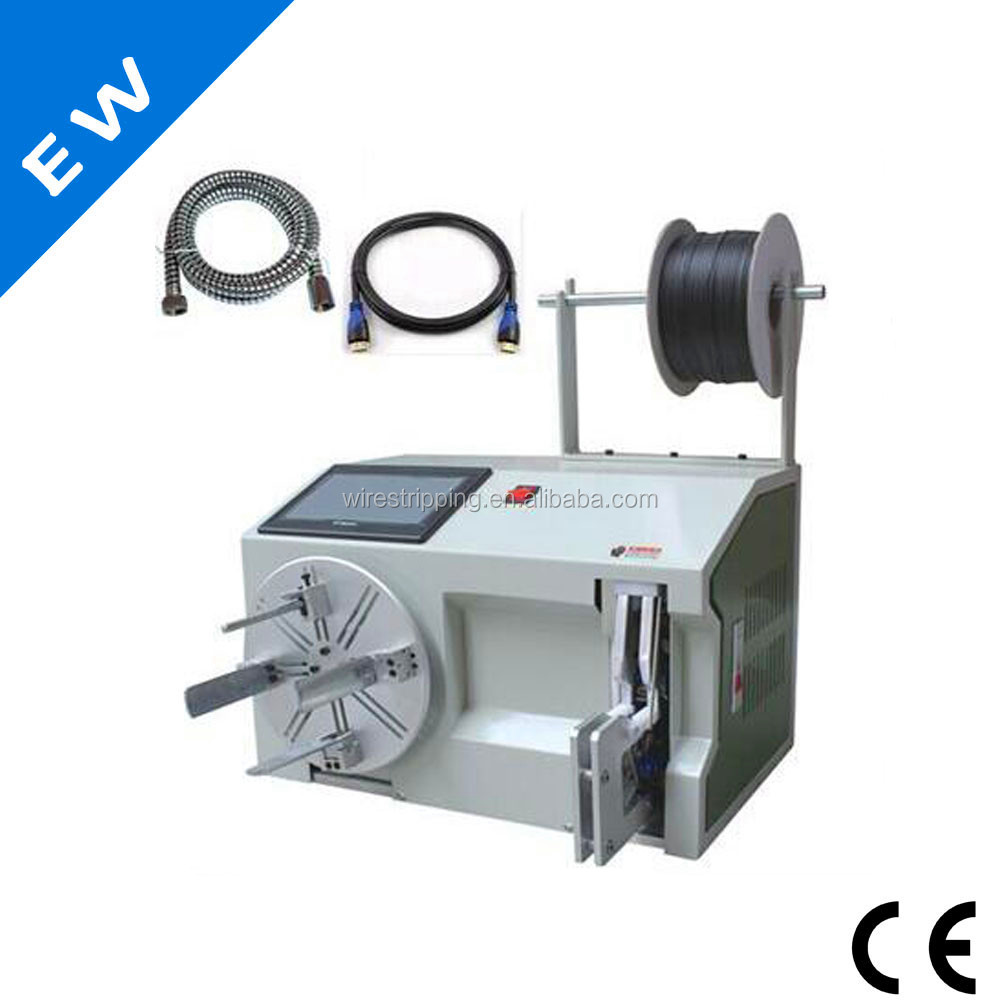 Automatic cable wire coil winding machine,wire tying machines