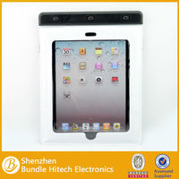 Outdoor sports pvc phone waterproof case with string, suit for ipad