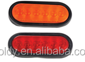 "LED 6""OVAL STOP/TAIL/TURN LIGHT"