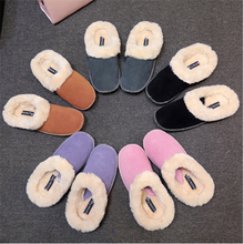 New arrival small order high quality beautiful design ladies shoes warm flat shoes in China