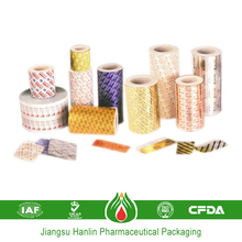 High barrier and nice printed aluminum foil material for medicine capsules packaging