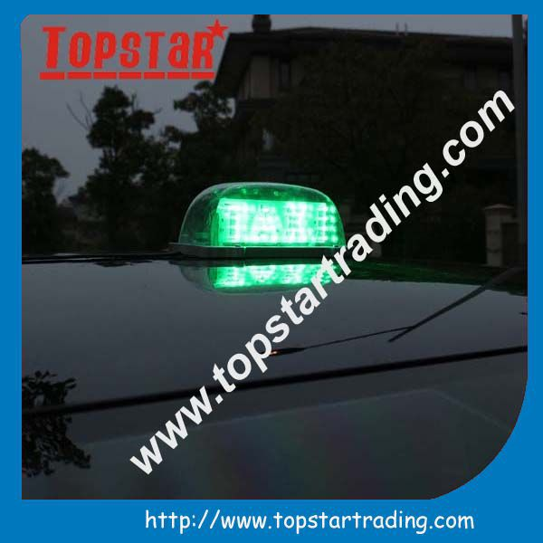 Top advertising taxi roof signs for sale