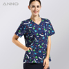 Hot selling veterinario nurses uniform design pictures scrubs wholesale