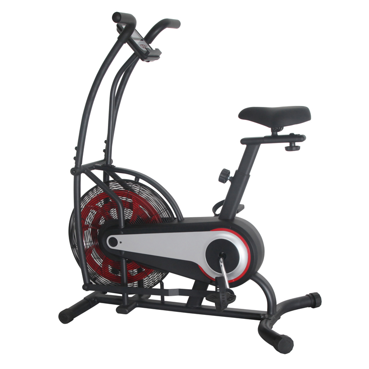 GS-8209-1 New Design and Popular Exercise Upright Fan Bike with Air Resistance System