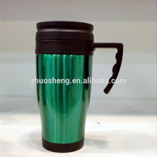 high quality coffee tumbler, insulated coffee mug with handle and lid, coffee cup