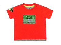 100% cotton short sleeve baby t-shirt, comfortable, breathable,
