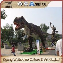 Silicone Rubber Simulation Mechanical Life Size Dinosaur T-rex