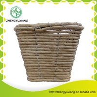 Good quality white cornhusk sundries basket