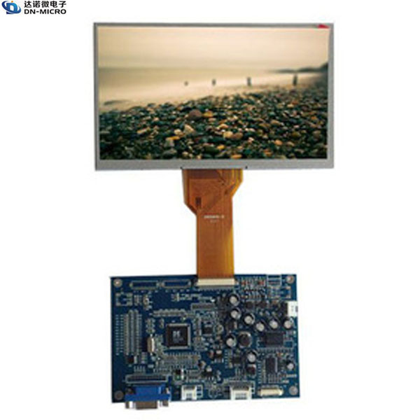 OEM 800*480 7 inch tft LCD module with touch