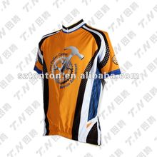 Cheap nice sublimated youth cycling jersey