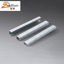 Wholesale custom F series U-type china cheap electro hard steel galvanized concrete nails