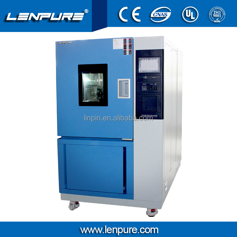 Lenpure 101L Environmental Weathering Chamber Ozone Aging Test equipment For Anti Aging Test