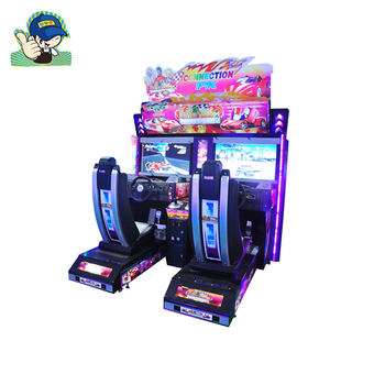 Coin Operated 2 Players Car Simulator Game Machine 3D Racing Car Games