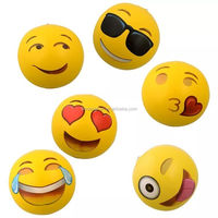 New Styles Funny Whatsapp Emoji Inflatable Beach Ball For Kids With Free Sample