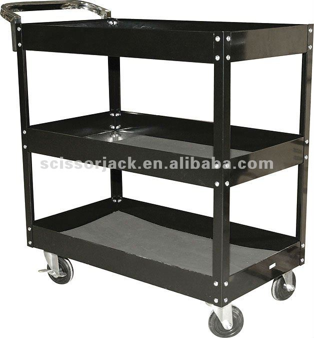 3 shelves tool cart