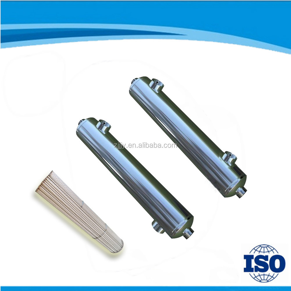 resist-corrosion and durable stainless steel shell and tube heat exchanger for swimming pool