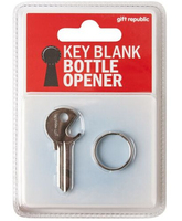 door key blank with bottle opener can opener for locksmith