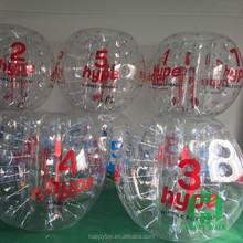 HI CE Promotional bubble soccer equipment,bubble sports equipment,inflatable human bubble