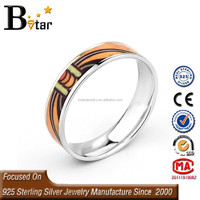 enamel fine jewelry wholesale enamel sterling silver jewelry rings
