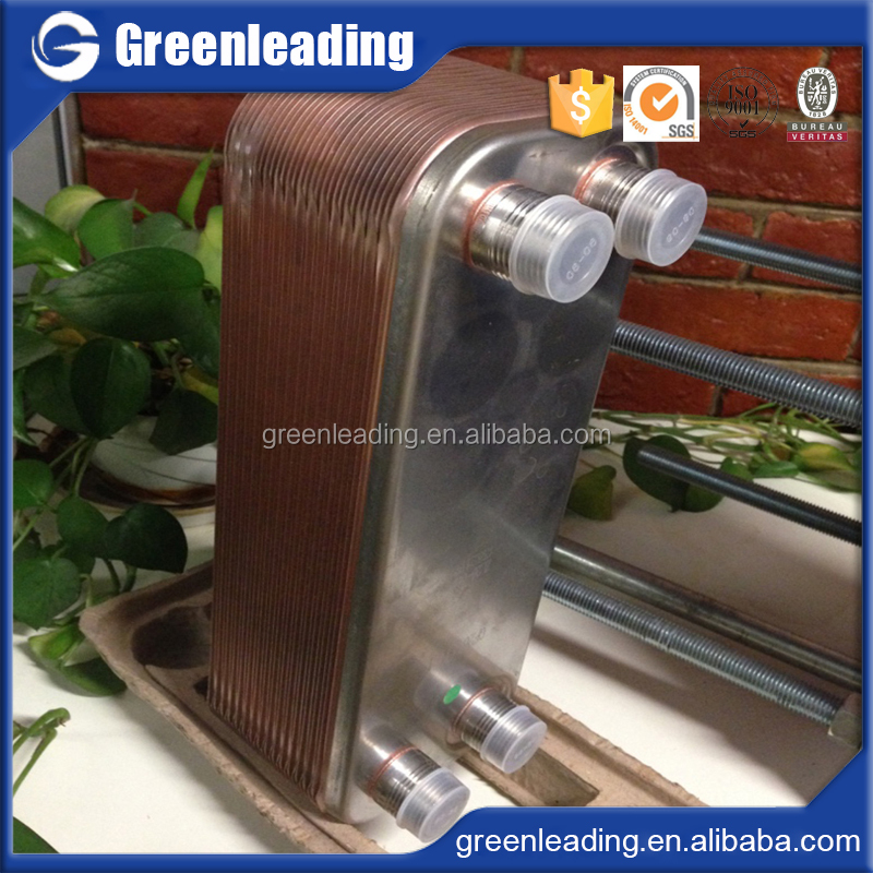 Freon Brazed plate heat exchanger with R410A R22