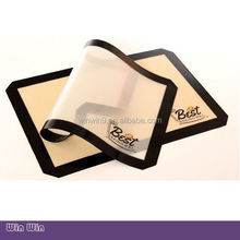 wholesale silicon baking mat with custom printing, liquid silicone rubber