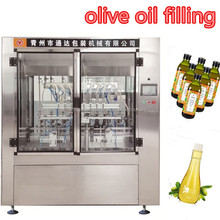 packaging machinery automatic olive oil filling machine/vegetable oil bottling line