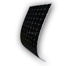 180w 200w 24v High Efficiency Semi Flexible Solar Panel