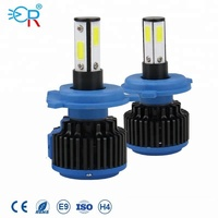 High power 4 sides cob G5/R9 led lights bulbs h7 h11 9006 9012 h4 9004 auto head lamp automatic headlights