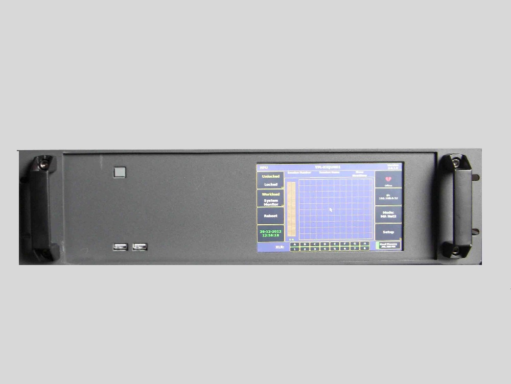 NPU 2016 new lighting console, network process units