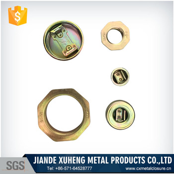 China cold rolled sheet steel drum bung and plug