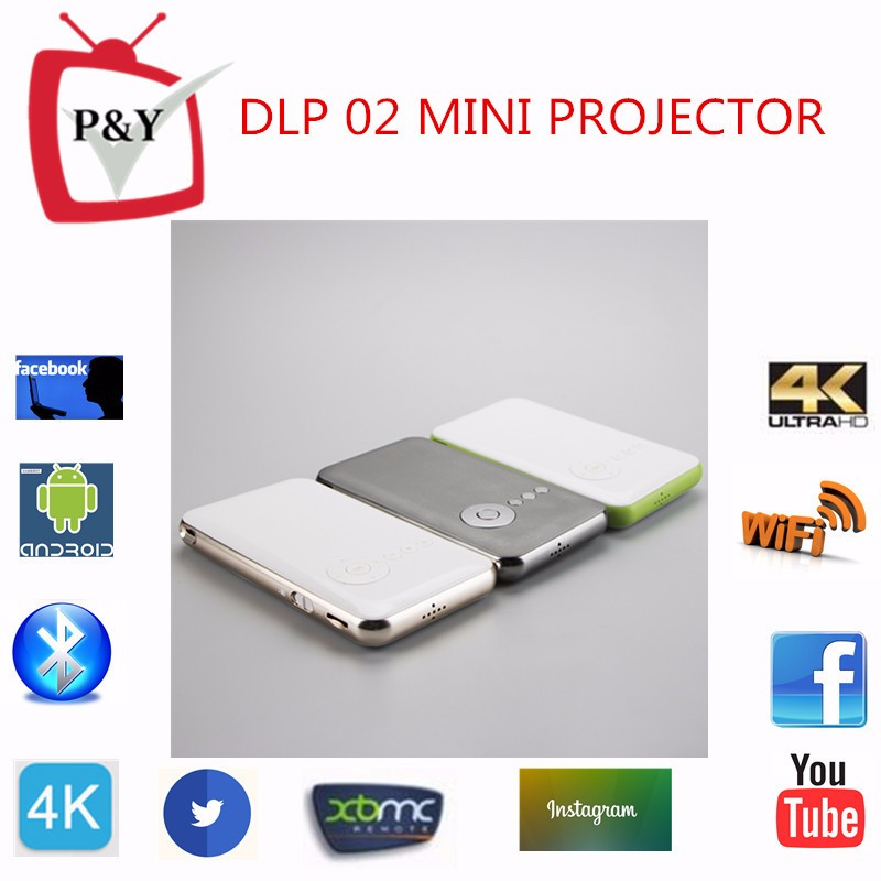 DLP02 cheap price mini projector with tv tuner projector