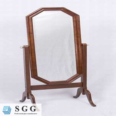 High quality framed mirror glass stand