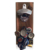 Wood Wall Plaque Bottle Opener with Magnetic Cap Catcher