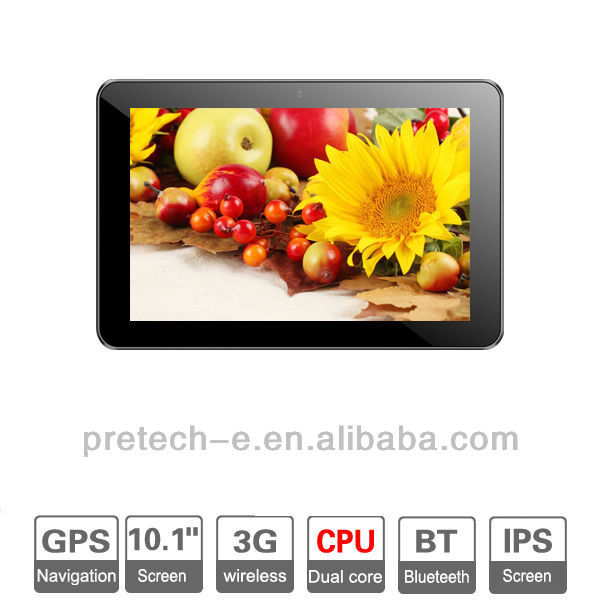 10.1'' Dual core Tablet PC with 1GB RAM IPS Screen