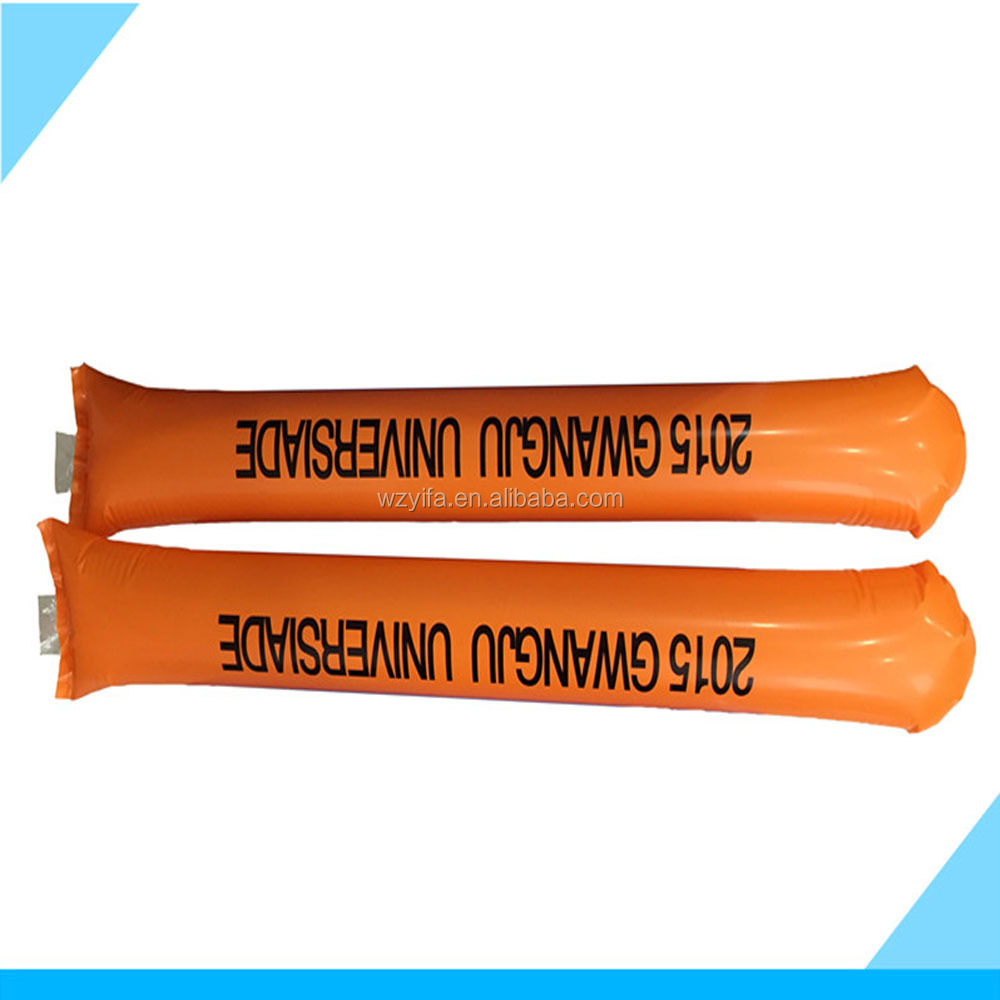 high quality inflatable cheering sticks,stick boom