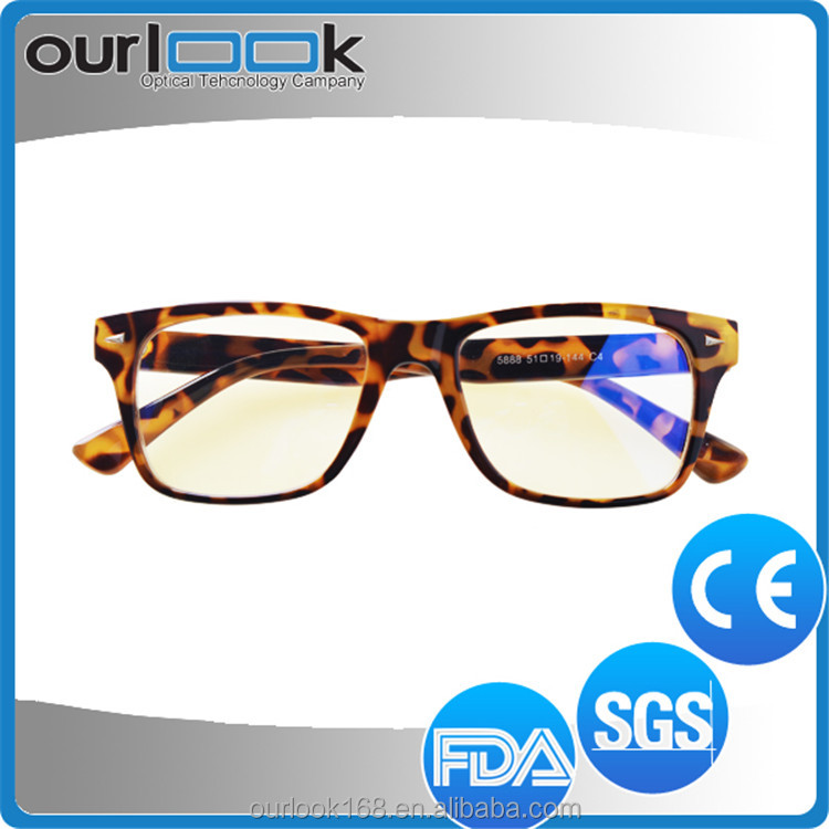 Hot Sell Unique Design Best Quality TR90 Anti Blue Ray Gel Eyeglasses